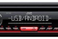 ausgezeichnete caraudio24 jvc kd t402 usb aux mp3 1din cd autoradio fur kia picanto 2008 2011 bild