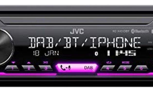 ausgezeichnete caraudio24 jvc kd x451dbt dab bluetooth mp3 usb autoradio fur seat mii ab 2011 foto