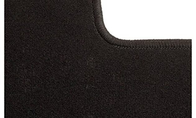 ausgezeichnete carfashion 281872 starlight passform auto fussmatten tuft velour automatte polyamid velours fussmatte in schwarz schwarze hochglanz kettelung 4 teiliges auto fussmatten s bild