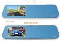 ausgezeichnete leshp auto kamera hd 1080p 32gb auto dvr kamera auto videorecorder mit 43 zoll lcd und 170 doppelte kameraobjektiv foto