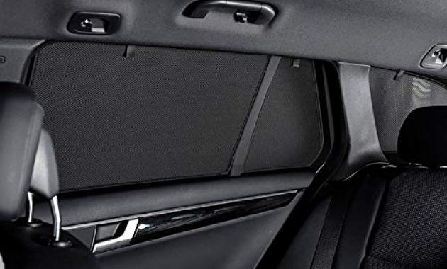 ausgezeichnete satz car shades kompatibel mit audi a3 8p 5 turer 2003 2012 foto