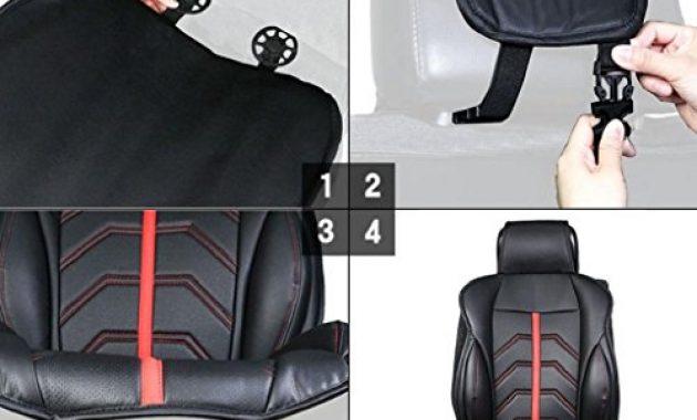 ausgezeichnete sharplace sanfte auto sitzbezuge inkl autositz und kopfstutze bezuge fur kfz lkw schwarz bild