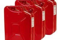 awesome 3x 20 liter benzinkanister metall ggvs mit sicherungsstift rot blech 3er set bild