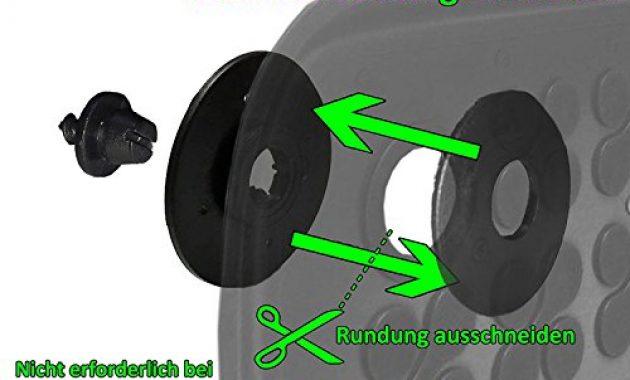 awesome ame set auto gummimatten fussmatten mit schmutzrand geruch vermindert anti rutsch oberflache und befestigungskit kofferraum wanne schutzmatte fur den laderaum 200319rg 232037kw bild