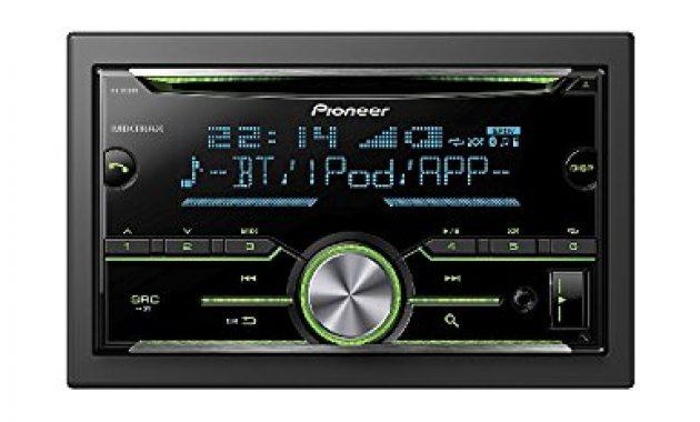 awesome auto radio cd receiver pioneer mit usb cd aux bluetooth fur ford transit f6 2006 2013 incl einbauset schwarz foto