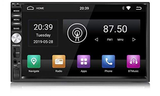 awesome kkxxx s1 plus android autoradio 2 gb ram 32 gb rom gps navigation autoradio am fm 7 zoll 2 din head unit freisprechanrufe unterstutzen den dvr eingang der kamera foto