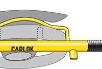awesome kleinmetall carlok auto diebstahlsicherung lenkradkralle absperrstange silber bild