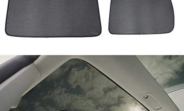 awesome lesgos autofenster sonnenschirme car sunroof uv rays protection window shade fur tesla model 3 front sunshade rear sunshade foto