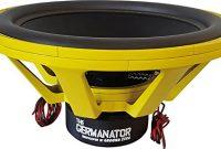 awesome the germanator ground zero 86 cm subwoofer 18 000 watt rms 2 x 1 ohm bild