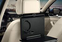 awesome volkswagen 000061124 original klapptisch fur die kopfstutze mit integriertem becherhalter reise und komfort system foto