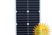 cool 20 w flexibel solar panel aus back contact zellen mit robuster etfe beschichtung fur wohnmobil wohnwagen wohnmobil rv boot foto