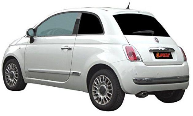 cool auto sonnenschutz fertige passgenaue scheiben tonung sonnenblenden keine folien vorsatzscheiben fiat 500 ab bj07 bild