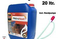 cool cago petroleum kanister fur eine saubere verbrennung 20l liter mit handpumpe bild