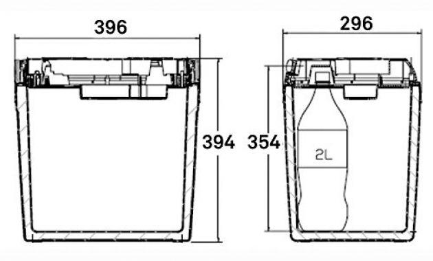 cool dometic coolfun sc 26 tragbare thermo elektrische kuhlbox 25 liter 12 v fur auto lkw boot foto