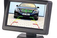 cool lescars einparkhilfe farb ruckfahrkamera im nummernschildhalter m monitor abstandswarner pdc bild