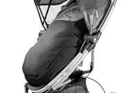 cool quinny universal fusssack passend fur die meisten kinderwagen und buggys schwarz bild