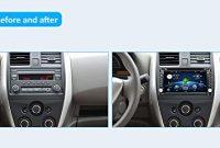 cool stereo autoradio upgrade version mit android 60 qure core wlan doppel din dvd player gps navigation und integrierter kamera fur alle automodelle bild