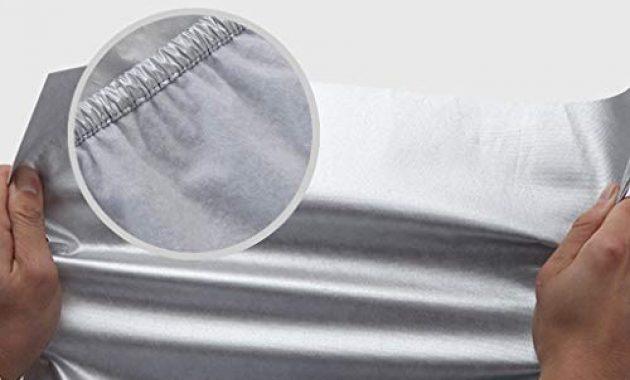 cool sxet autoabdeckung kompatibel mit hyundai tucson kratzfeste staubschutzhulle dicke oxford stoffhulle sonnenschutz uv anti schnee creme set foto