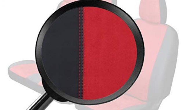 cool z4l sitzbezuge custo rot schwarz passgenau ideal angepasst kleintransporter 4dv cu 3m jdb 02 foto