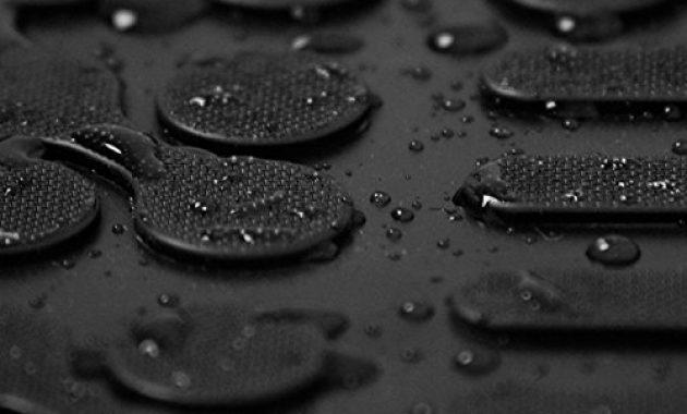erstaunlich ame set auto gummimatten fussmatten mit schmutzrand geruch vermindert anti rutsch oberflache und befestigungskit kofferraum wanne schutzmatte fur den laderaum 200319rg 232037 foto