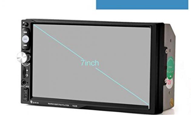 erstaunlich lacaca 178 cm hd touchscreen indash auto stereo mp5 player unterstutzung bluetooth fmsdusbaux eingang freisprechfunktion anrufe macht ausgang fernbedienung bild