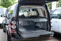 erstaunlich massgeschneiderte matte qbl214b fur die kofferraumwanne in schwarzer farbe und gestepptem muster foto