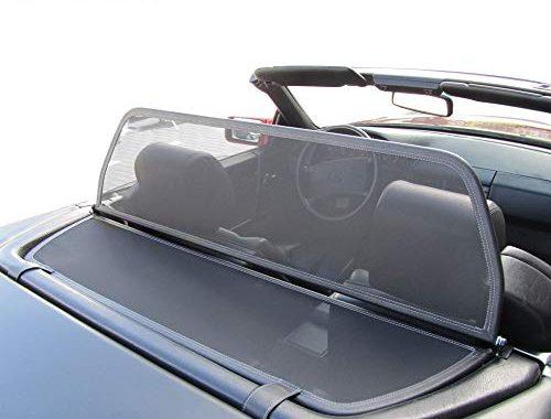 erstaunlich mercedes benz windschott sl klasse schwarz 100 passgenau oem qualitat bild
