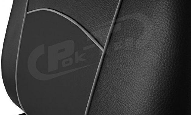 erstaunlich pok ter tuning passgenaue sitzbezuge amarok ab 2010 kunstleder schwarz bild
