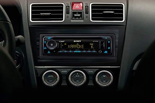 erstaunlich sony mex n7300kit dab autoradio mit cd dual bluetooth usb und aux anschluss bluetooth freisprechen 4 x55 watt 3x preout extra bass vario color bild