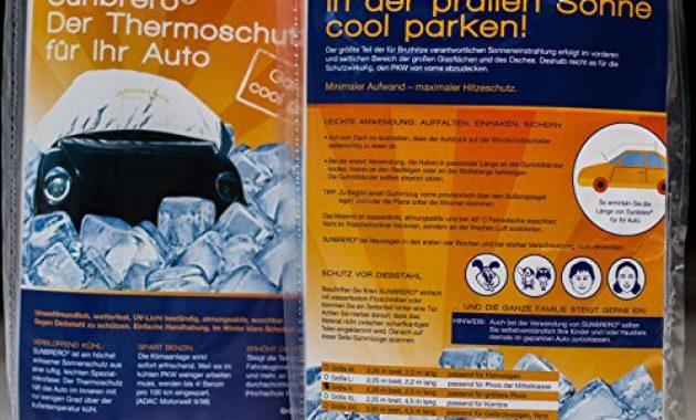 erstaunlich sunbrero sonnenschutz abdeckung hitzeschutz haube furs auto um das starke erhitzen des innenraumes zu verringern grosse x 25 m lang 225 m breit bild