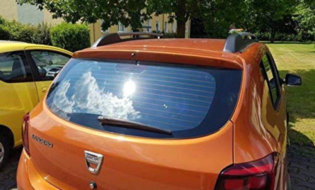 erstaunliche auto sonnenschutz fertige passgenaue scheiben tonung sonnenblenden keine folien vorsatzscheiben dacia sandero stepway ab 13 foto