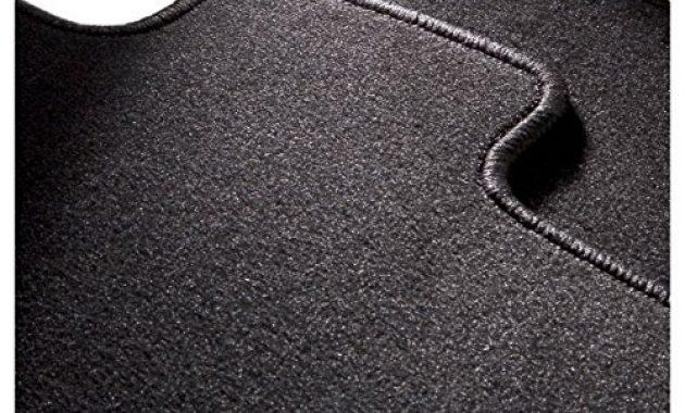 erstaunliche carfashion 281872 starlight passform auto fussmatten tuft velour automatte polyamid velours fussmatte in schwarz schwarze hochglanz kettelung 4 teiliges auto fussmatten set foto