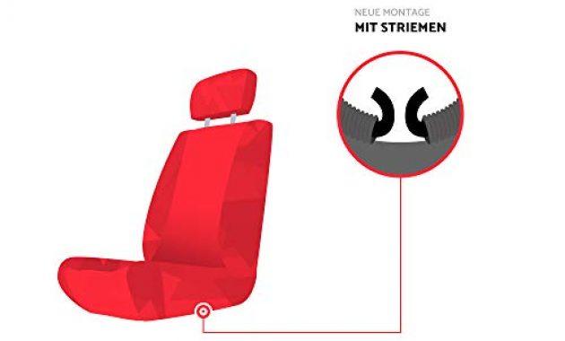erstaunliche ejp unico premium autositzbezuge sitzbezuge schonbezuge set passend fur navara np300 d40 hier farbe grau bild