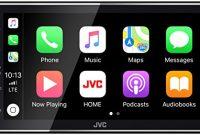 erstaunliche jvc kw m745dbt digital media receiver mit 173 cm kapazitivem touch panel dab und bluetooth schwarz bild