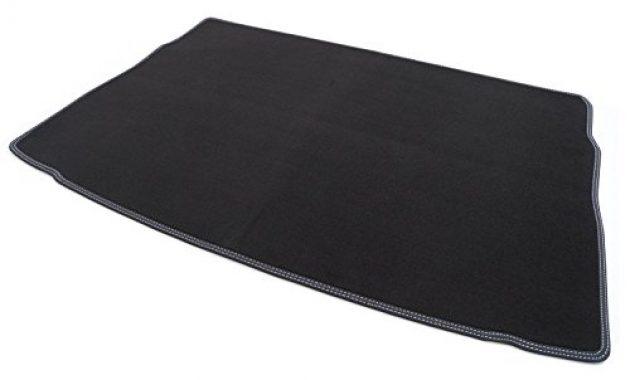 erstaunliche kh teile kofferraummatte golf vii 7 doppenhat weiss velours kofferraum matte automatte premium schwarz bild