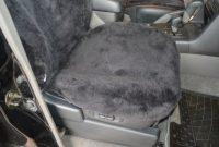 erstaunliche leibersperger felle autoschonbezug autositzbezug autofell luxus fur fahrersitz komplett aus echtem lammfell farbe schiefer foto