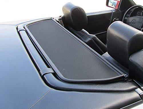 erstaunliche mercedes benz windschott sl klasse schwarz 100 passgenau oem qualitat bild