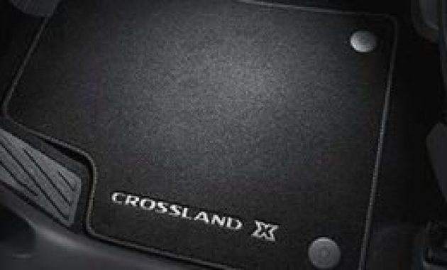 erstaunliche original crossland x fussmatten velours 13476009 foto