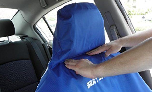 erstaunliche seat saver wasserfester abnehmbarer universaler auto sitzbezug einfaches anbringen und abnehmen bild