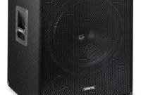 erstaunliche skytec professionelle bassbox 300 w 38cm subwoofer tiefpass filter foto
