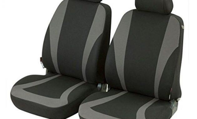 erstaunliche timon 58263 sitzbezug schonbezug autositzbezug vordersitzbezuge schwarz grau foto