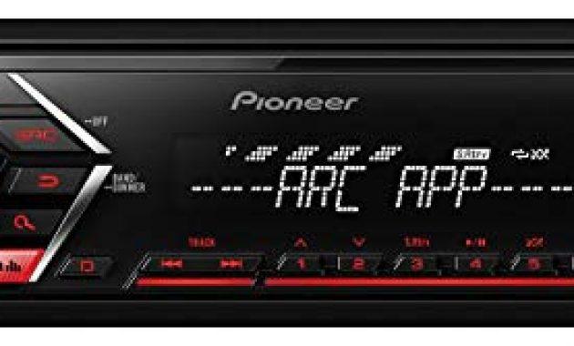 fabelhafte caraudio24 pioneer mvh s100ub usb aux mp3 1din autoradio fur opel corsa c iso 2000 2004 aluminium foto