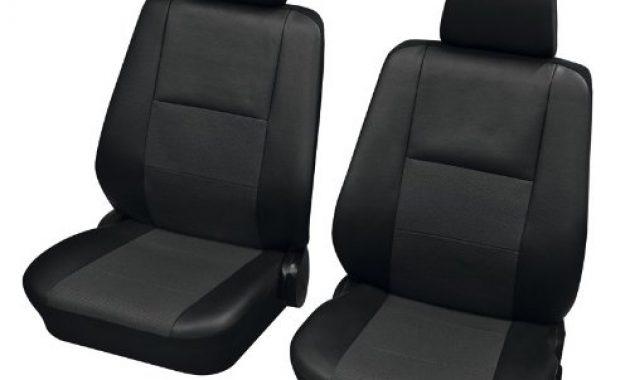 fabelhafte faszination 3174 autositzbezug sitzbezug schonbezug vordersitz garnitur schwarz anthrazit passend fur bild