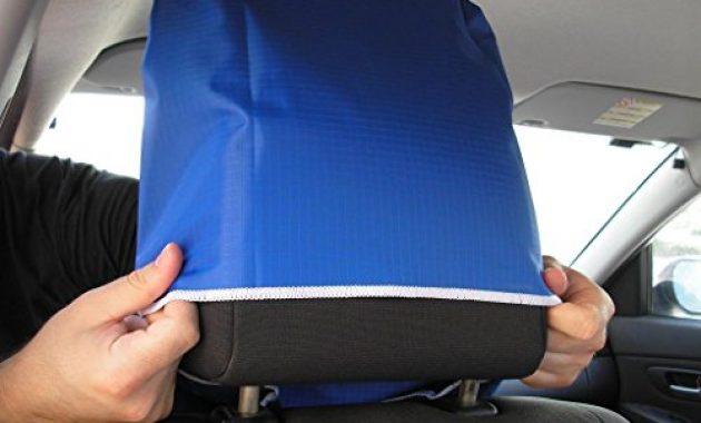 fabelhafte seat saver wasserfester abnehmbarer universaler auto sitzbezug einfaches anbringen und abnehmen foto