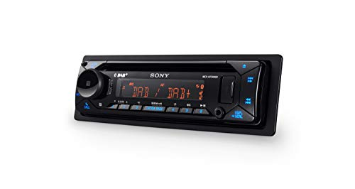 fabelhafte sony mex n7300kit dab autoradio mit cd dual bluetooth usb und aux anschluss bluetooth freisprechen 4 x55 watt 3x preout extra bass vario color bild