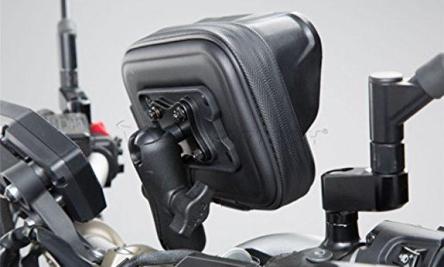 fabelhafte sw motech universal motorrad gps navihandy halter navi pro case l bild
