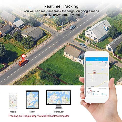 fabelhafte tkmars gps tracker echtzeit positionierung gps mit starken magneten 90 tage lang standby gps tracker auto lkw fahrrad gps ortung senioren fur kostenlose app foto