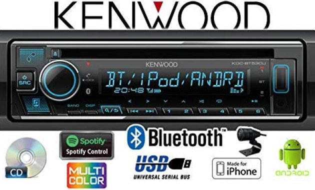 fantastische autoradio radio kenwood kdc bt530u bluetooth spotify iphone android cdmp3usb einbauzubehor einbauset fur audi a6 c4 just sound best choice for caraudio bild