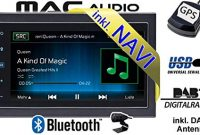 fantastische autoradio radio mac audio mac 520 dab 2 din navigation usb bluetooth dab navi einbauzubehor einbauset fur dacia dokker 2din just sound best choice for caraudio foto
