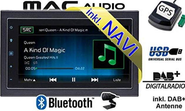 fantastische autoradio radio mac audio mac 520 dab 2 din navigation usb bluetooth dab navi einbauzubehor einbauset fur dacia dokker 2din just sound best choice for caraudio foto